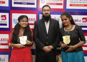 PURANDHREE AND CHANDINI WITH ABBAS SIR