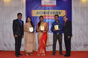 OUTSTANDING MEMBERSHIP AWARD(5 YEARS) BHAGYASHREE, SUSHMITA & ANKIT